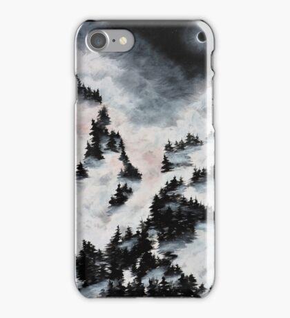 Foggy Mountain Landscape iPhone Case/Skin