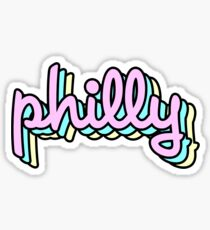 Philly Retro Sticker