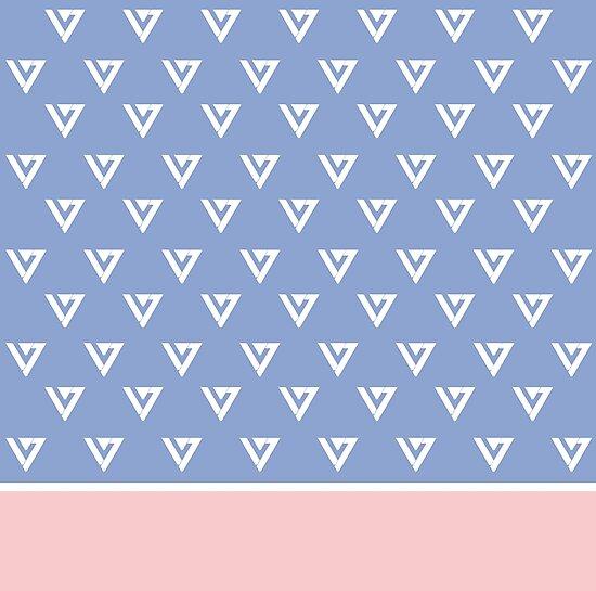Seventeen Logo Rose Quartz Amp Serenity Photographic Prints By
