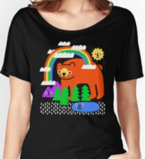 Funky Forest Women's Relaxed Fit T-Shirt
