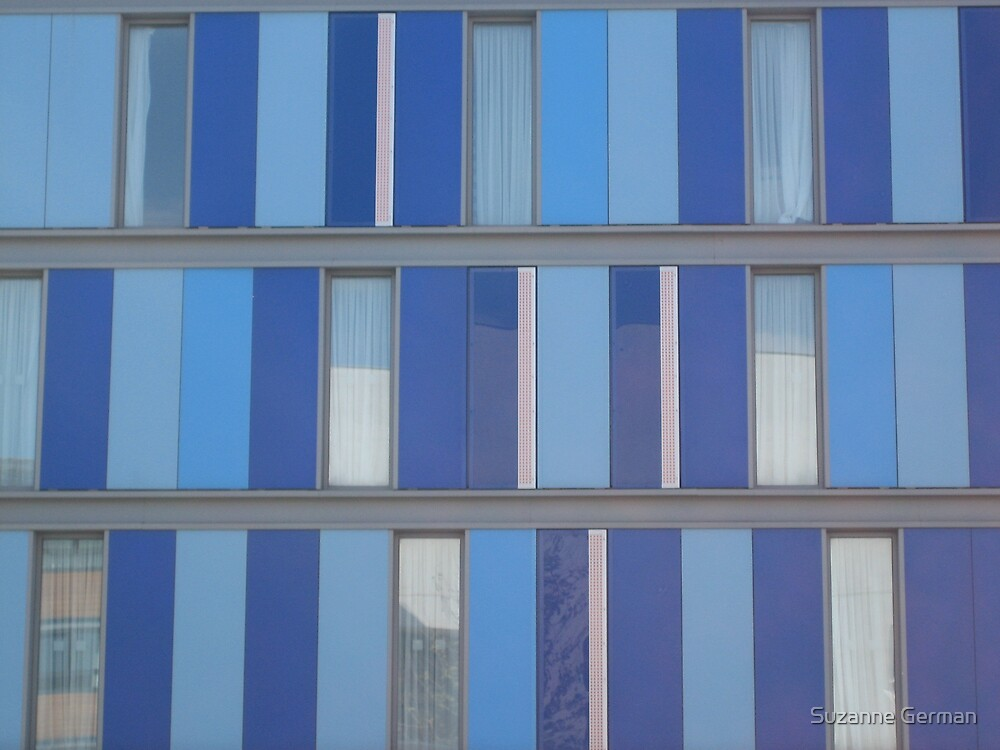 Blue Boxes by Suzanne German