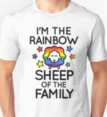 Im the Rainbow Sheep of the Family Unisex T-Shirt