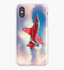 """RAF """"Red Arrows"""" Hawk iPhone Case"""