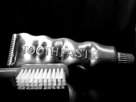 Tooth Paste by Jimmy Ostgard