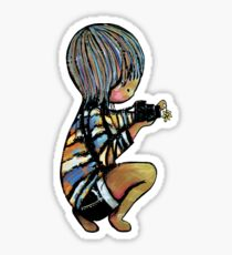 smile baby macro photography Sticker