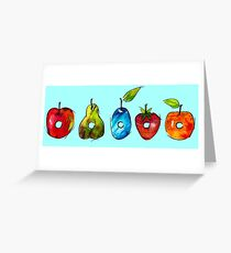 The Very Hungry Caterpillar Fruit Greeting Card