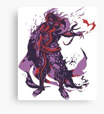 Minimalist Hades Canvas Print
