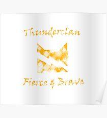 Warrior Cats: Thunderclan Poster