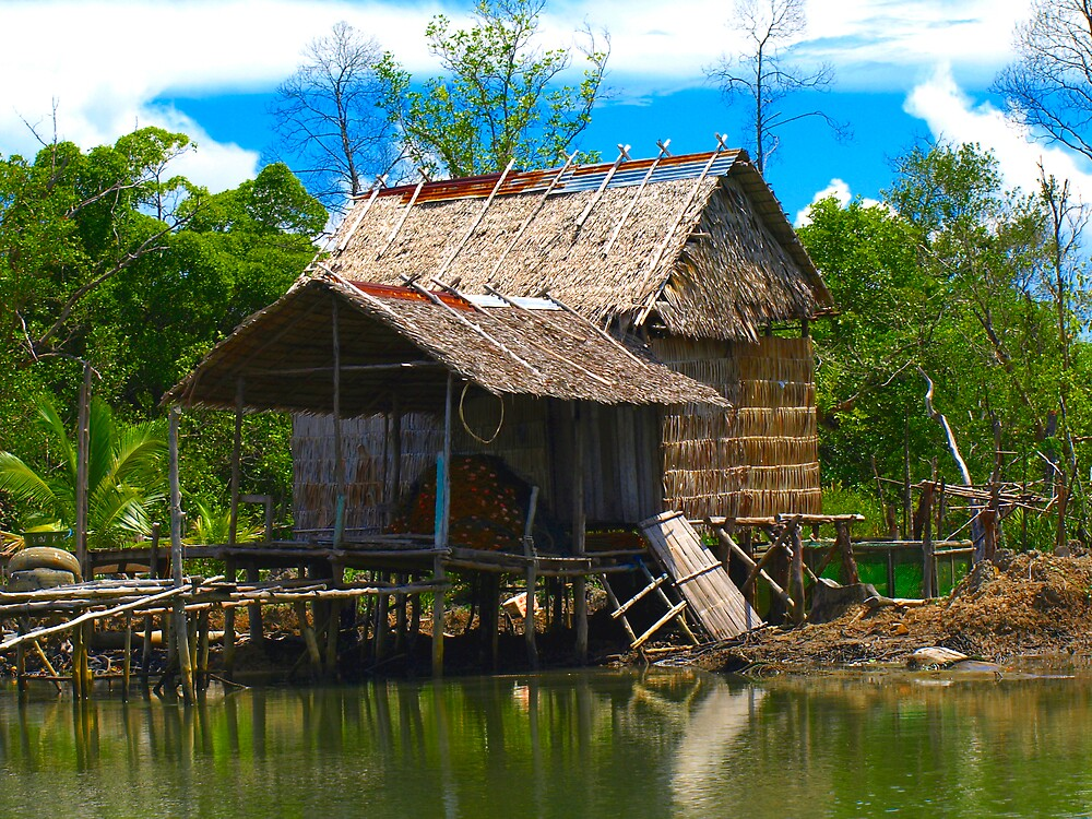 fishing hut 1 by diddle