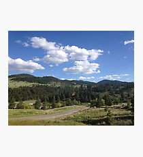 Mountain trail Photographic Print