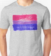 Bisexual Pride Art Slim Fit T-Shirt