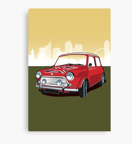 Mini cooper Canvas Print
