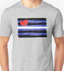 Leather Pride Art Slim Fit T-Shirt