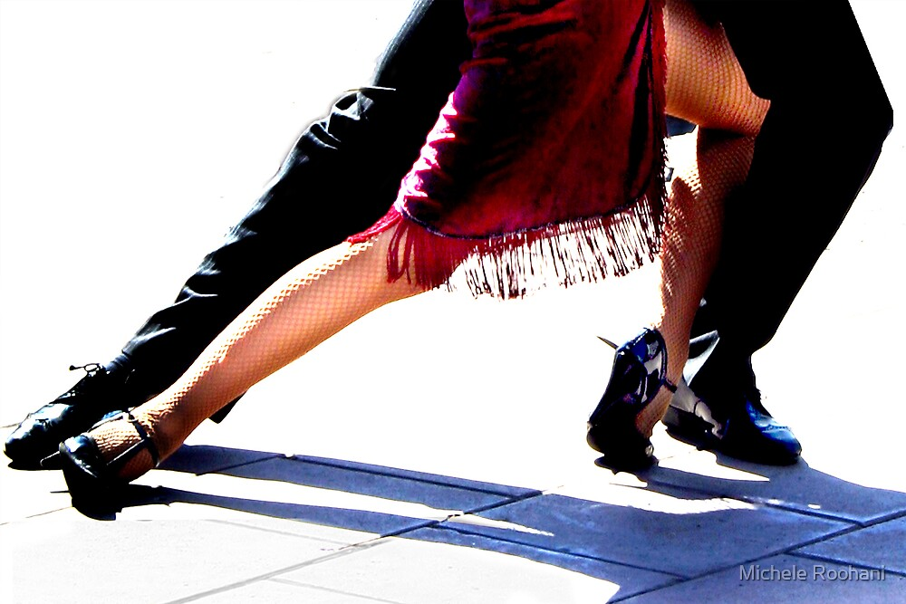 Red Tango by Michele Roohani