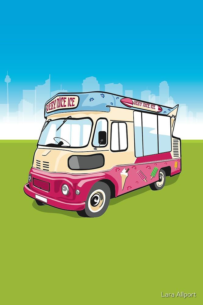 ice cream van by Lara Allport