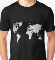 Map of the World Unisex T-Shirt