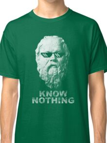 Know Nothing Classic T-Shirt