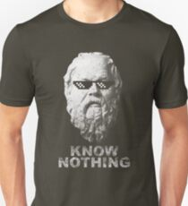 f3642e0d Know Nothing Slim Fit T-Shirt