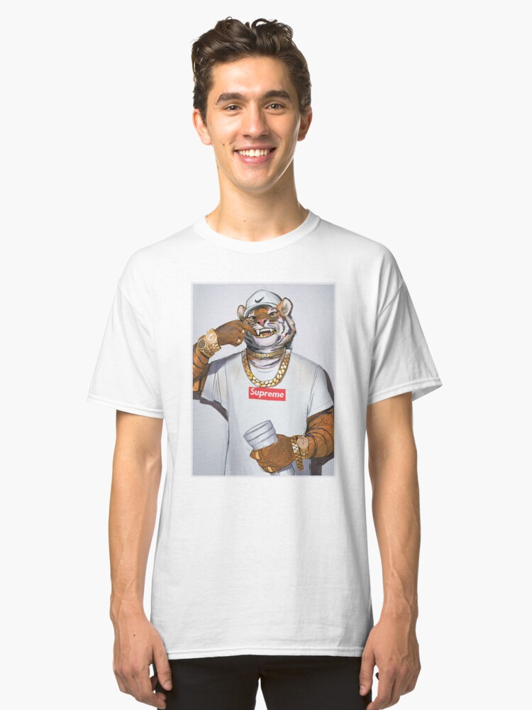 Trap Tiger Classic T Shirt By Tacklebawks Redbubble