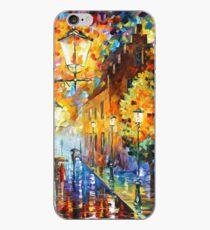 Lights In The Night - Leonid Afremov iPhone Case