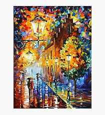 Lights In The Night - Leonid Afremov Photographic Print