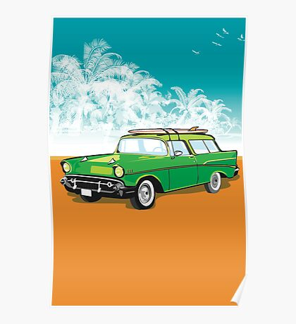 Old chevvy! Poster