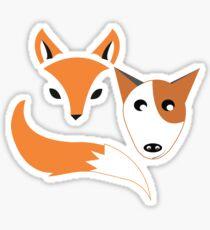 Fox and the Hound  Sticker