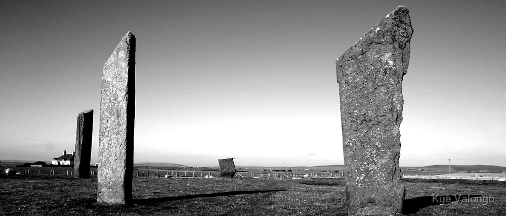 Stones of Stenness by Kye Valongo
