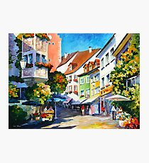 Sunny Germany - Leonid Afremov Photographic Print