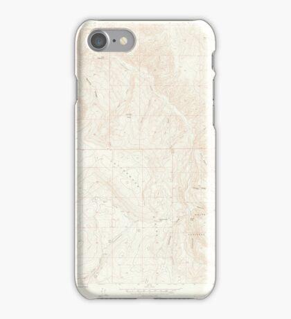 USGS TOPO Map Colorado CO Cottonwood Pass 400816 1961 24000 iPhone Case/Skin