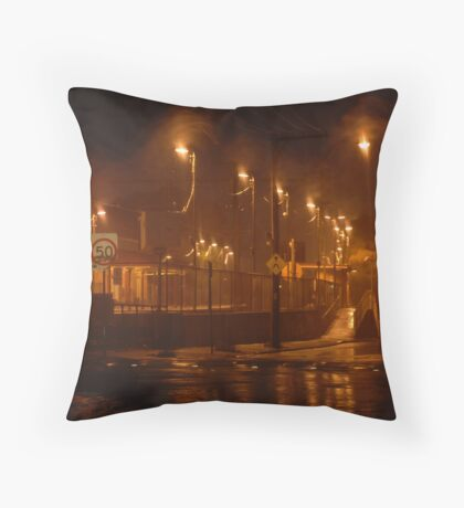 Urban landscape Throw Pillow