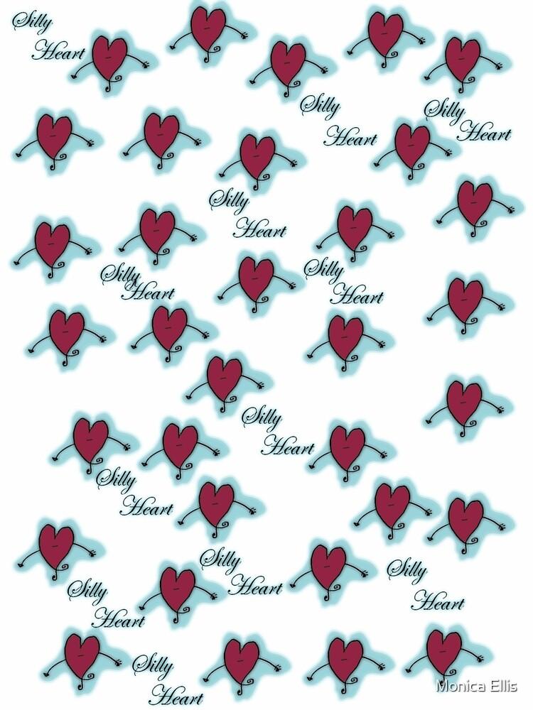 Silly Dancing Heart by Monica Ellis