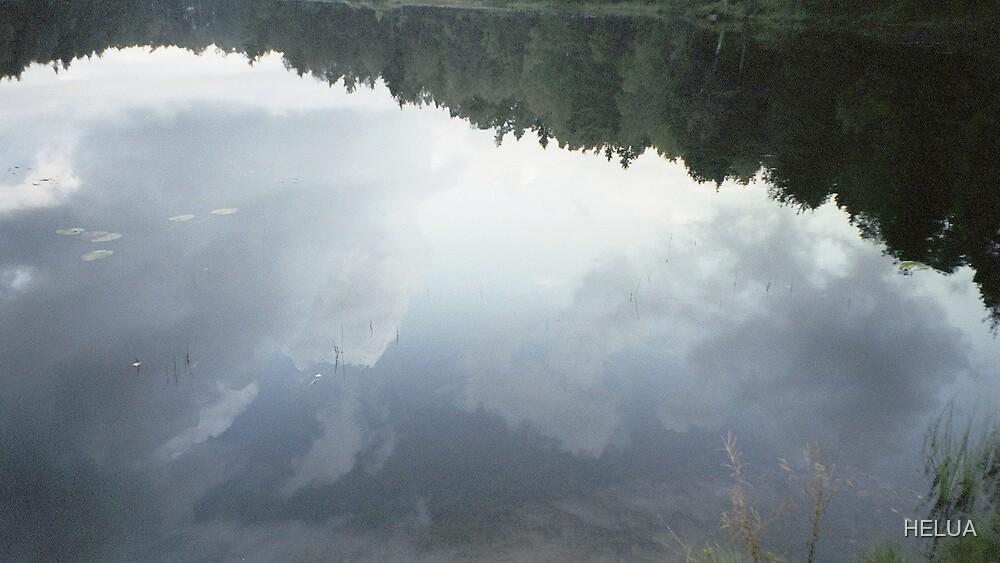 Clouds in Water by HELUA