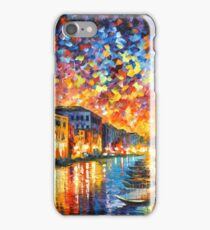 VENICE - GRAND CANAL - Leonid Afremov CITYSCAPE iPhone Case/Skin