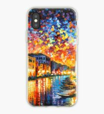 VENICE - GRAND CANAL - Leonid Afremov CITYSCAPE iPhone Case
