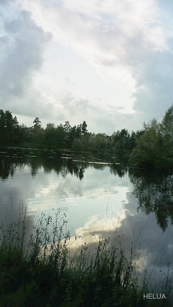 stormy sky by HELUA