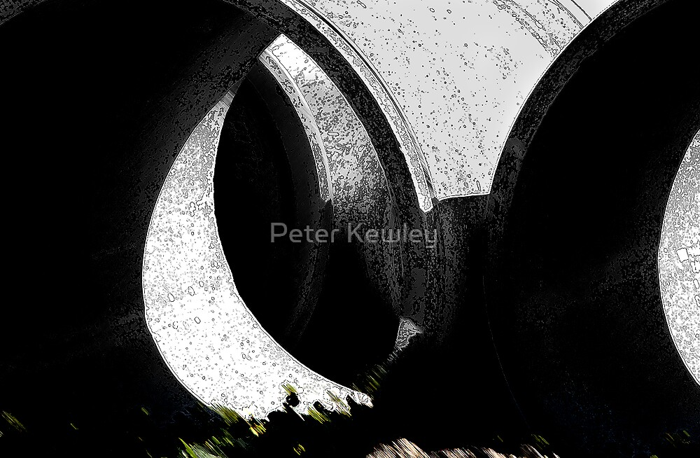 CONSTRUCTION #1 by Peter Kewley