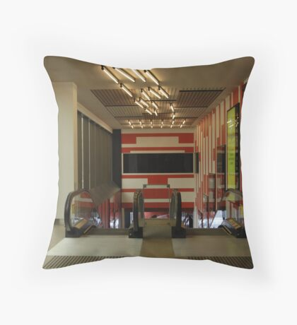 Escalating Throw Pillow