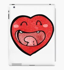 love heart cartoon character iPad Case/Skin