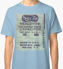 Solar Capacitor  - Blue Classic T-Shirt