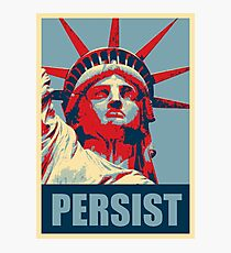 Nevertheless, she persisted (Womens March) Photographic Print