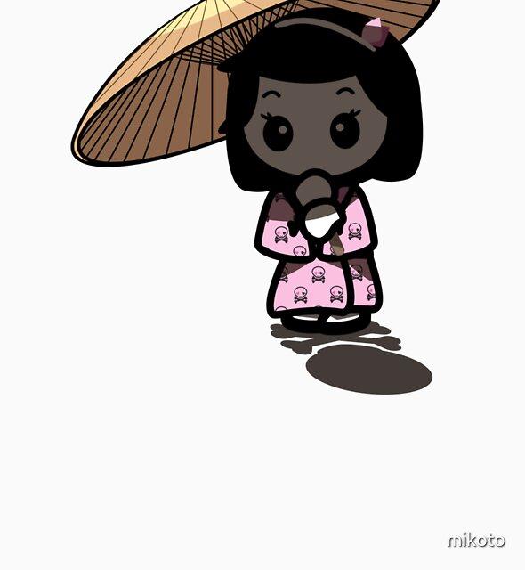 mikoto's umbrella by mikoto