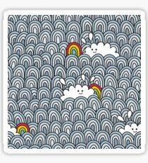 Blue sky - you`re lucky! Sticker
