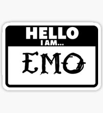 Emo Sticker