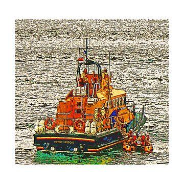 Fowey Lifeboat by gorran1