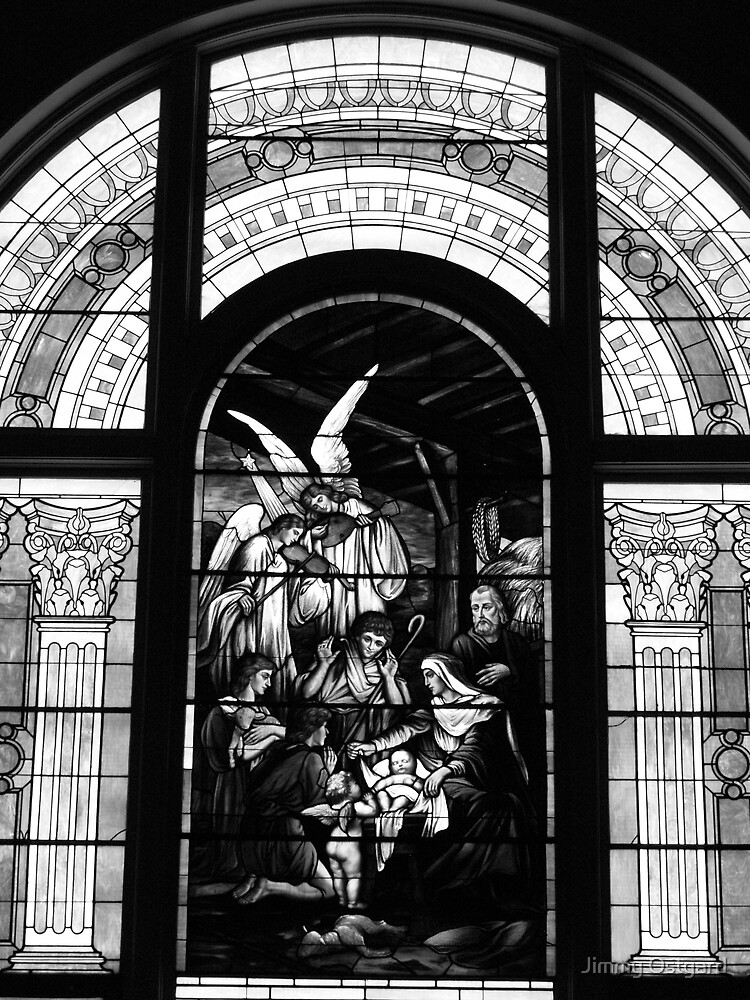 Stain Glass Window by Jimmy Ostgard