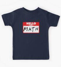 Math Kids Clothes