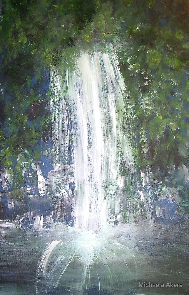 Water Falling by Michaela Akers