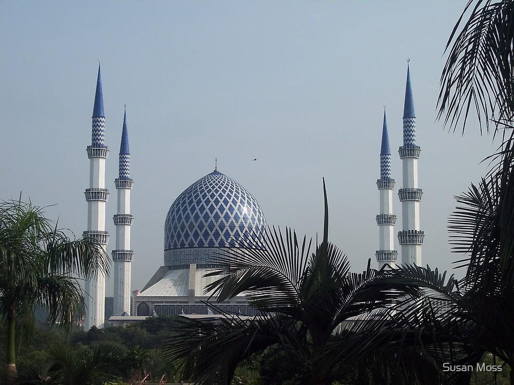 Blue Mosque by Susan Moss