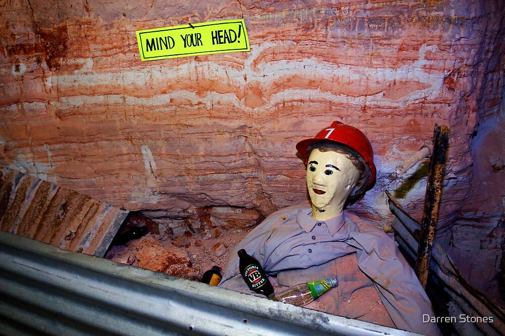 Lightning Ridge Mine by Darren Stones